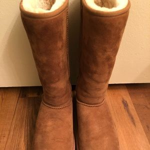 Classic Ugg Boots (Tall- Chestnut) 🔹 Size 8